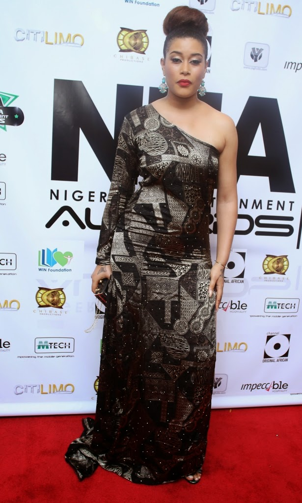 P67A9946 Red carpet photos from 2014 Nigeria Entertainment Awards