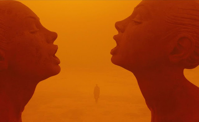 A Still from Blade Runner 2049 that provides a glimpse of Roger Deakins' mastery over his art