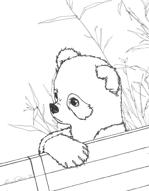 Cute Baby Panda Coloring Pages Cute Baby Panda Coloring Pages