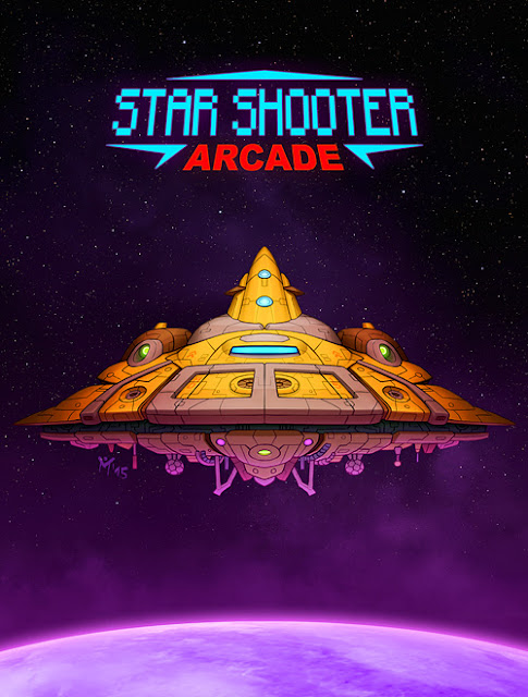 Star Shooter Arcade - Title Screen
