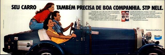 propaganda STP - 1976. brazilian advertising cars in the 70. os anos 70. história da década de 70; Brazil in the 70s; propaganda carros anos 70; Oswaldo Hernandez;