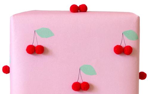 Cheerful Cherry Wrap by Love. Luck. Kisses & Cake   LLK-C.com