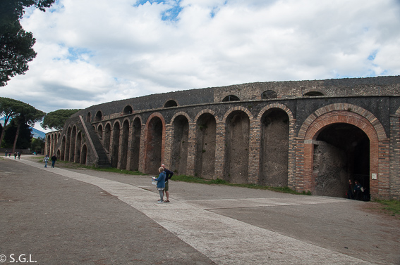 Anfiteatro Pompeya, las ruinas de la ciudad romana