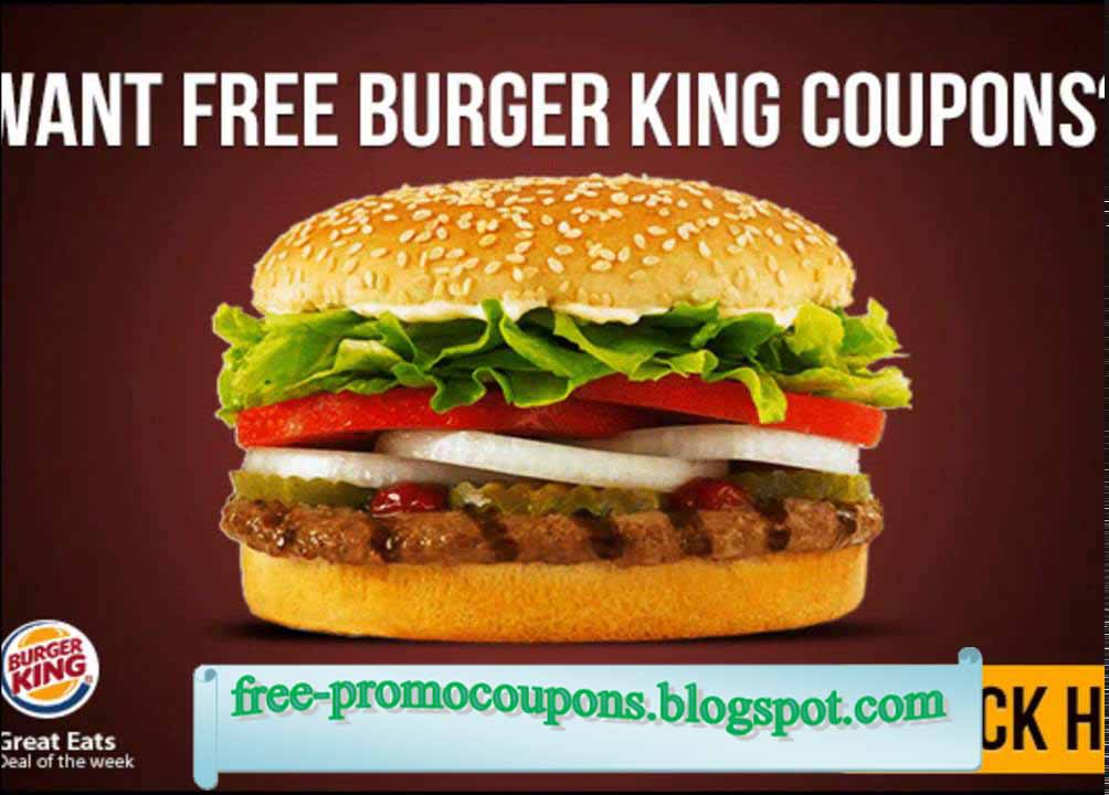 It's just a picture of Soft Burger King Coupons Printable 2020