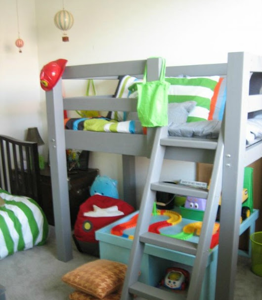 Single Wide Makeover - Toddler Loft Beds For The Boys