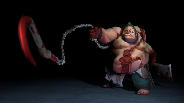 Pudge - Unlimited Damage Permanently Dota 2