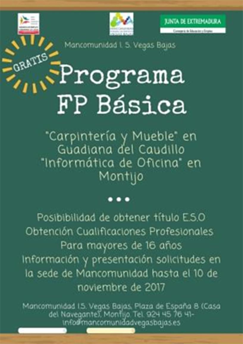 Programa Fp B Sica De Carpinter A Y Mueble Guadiana Del Caudillo # Muebles Nacho Gomez