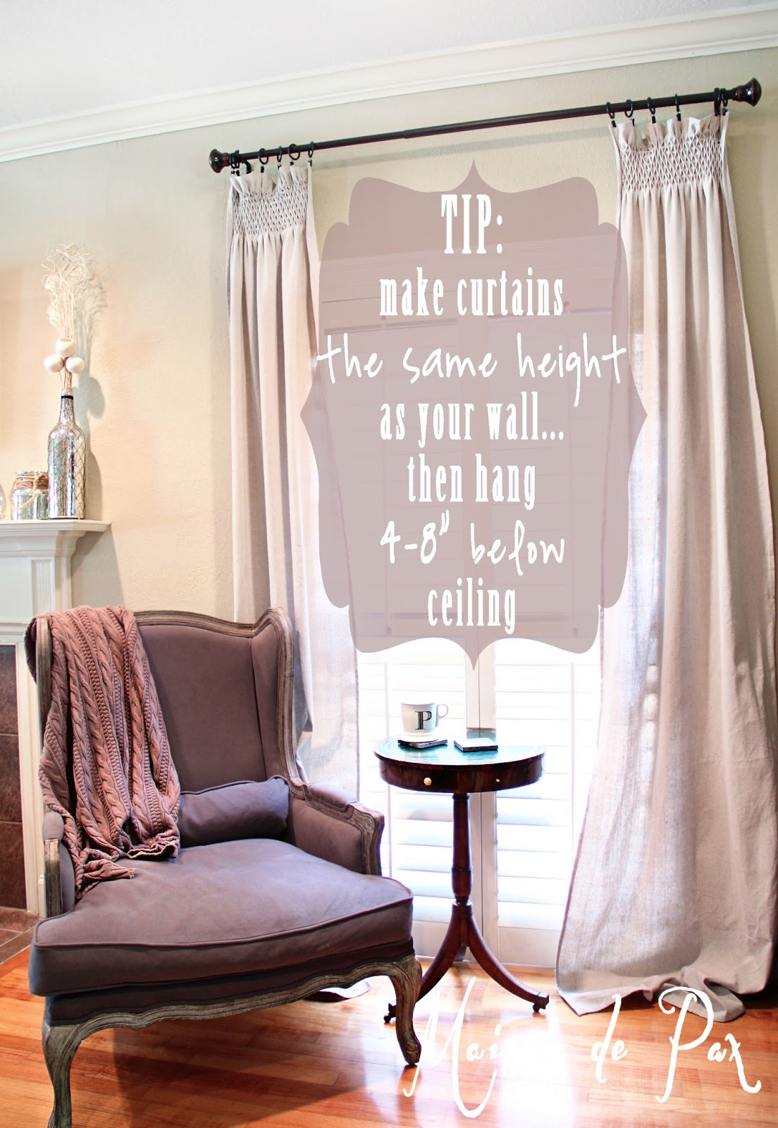 Diy Smocked Curtains