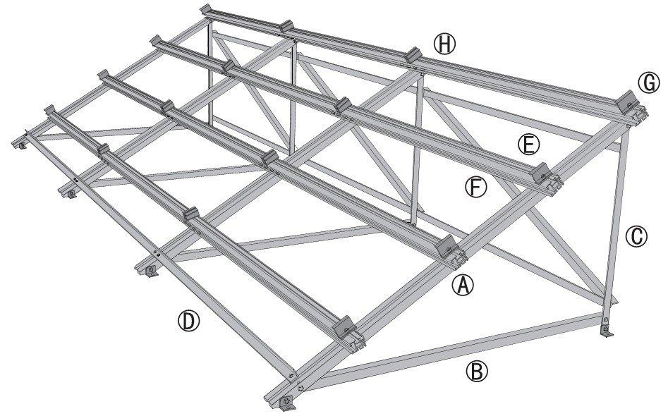 G.V.Enterprises: Solar panel frame
