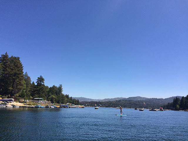 labor day, paddle boarding, lake arrowhead, lakes, mountains