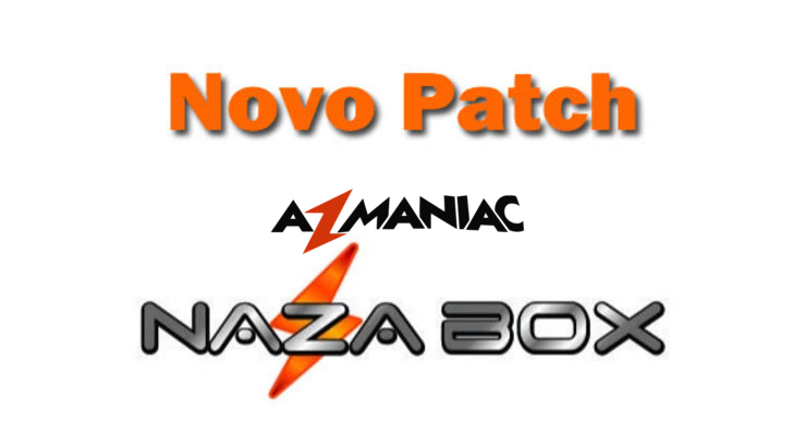 Atualização Patch Nazabox 58w ON