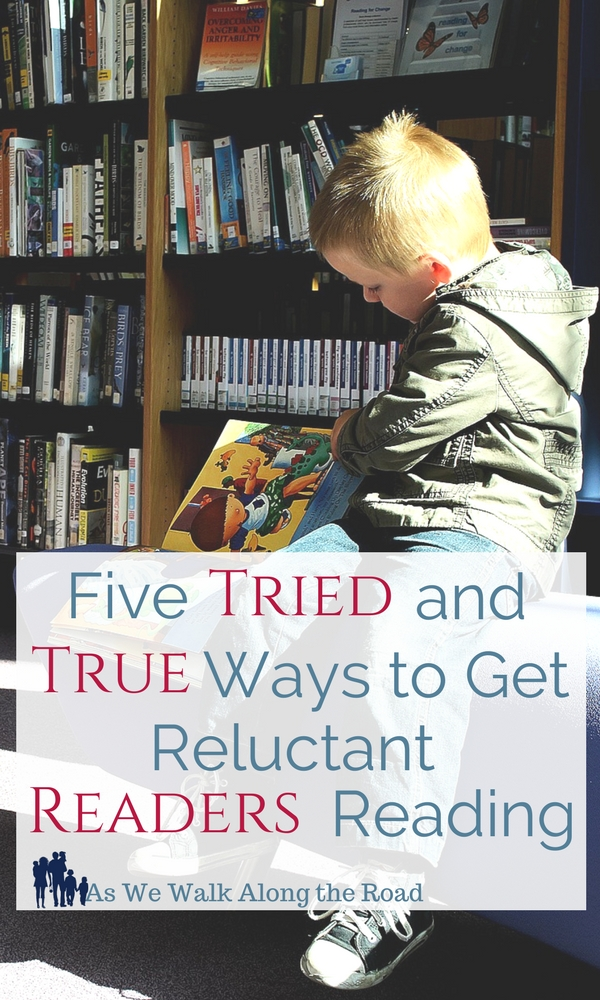 Ways to get reluctant readers reading