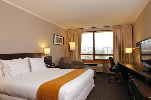 Quarto do Hotel Holiday Inn Express em Temuco
