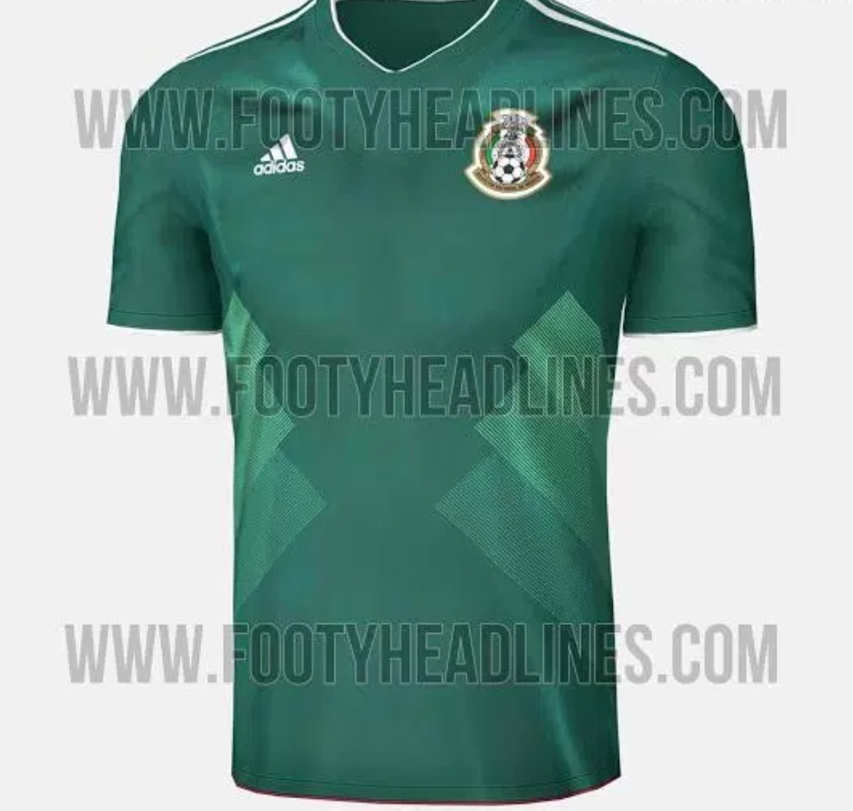 Mexico Home Kit World Cup 2018 (Adidas)