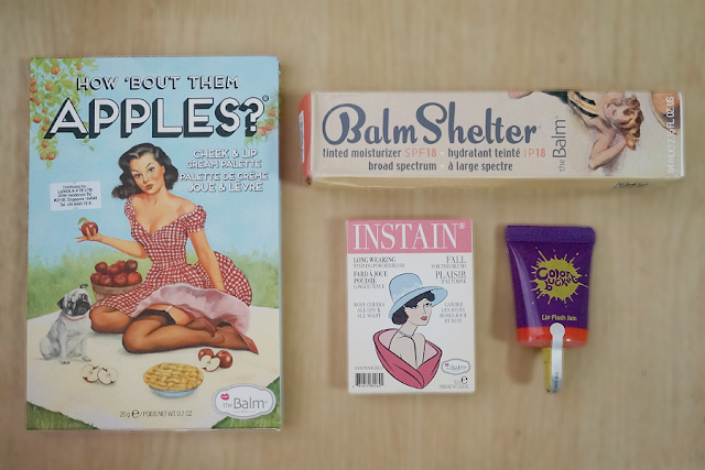 Haul: Color Bucket and theBalm from Luxola