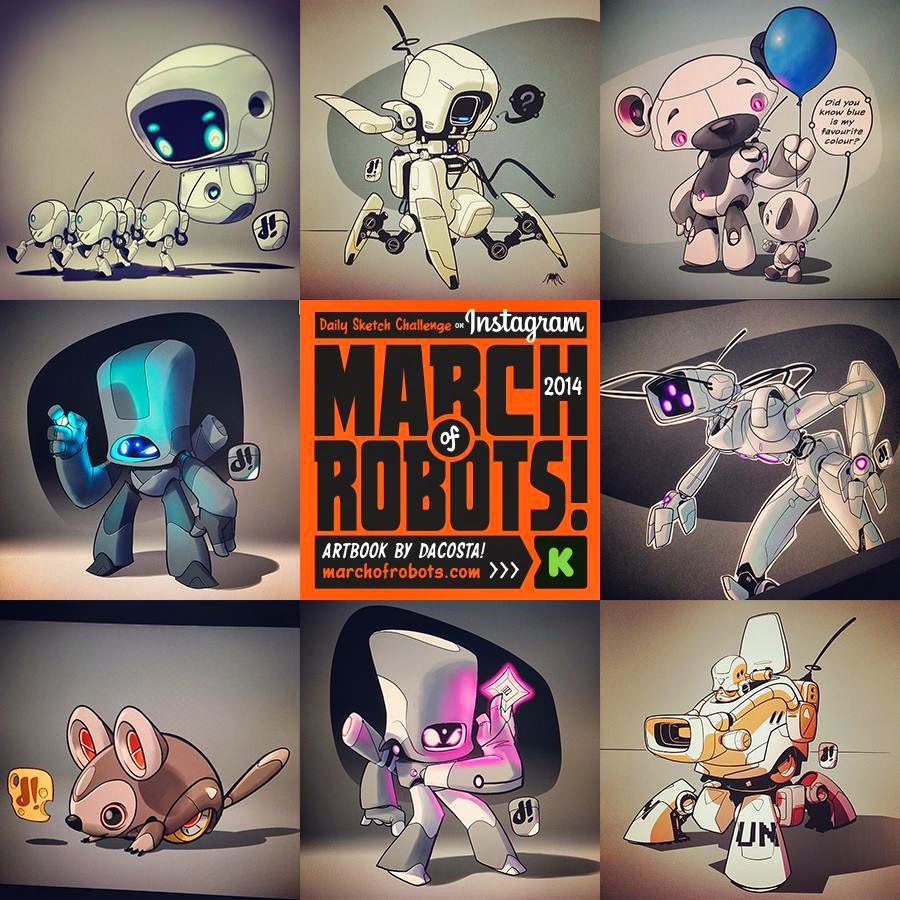https://www.kickstarter.com/projects/chocolatesoop/march-of-robots-art-book-project