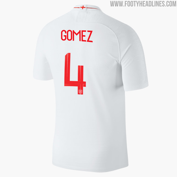 6d2afde616386 Here are some examples of the Nike England 2018 World Cup typeface.