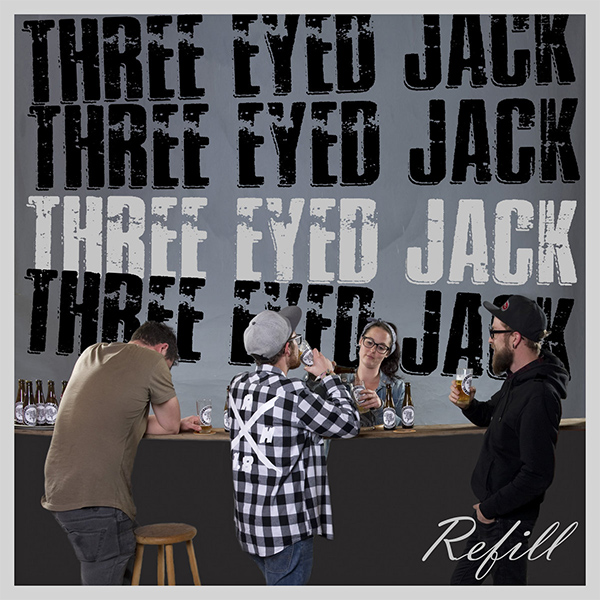 "Three Eyed Jack stream new EP ""Refill"""