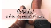10 botas elegantes para usar em dias chuvosos de SP - Até R$100,00 (Online)