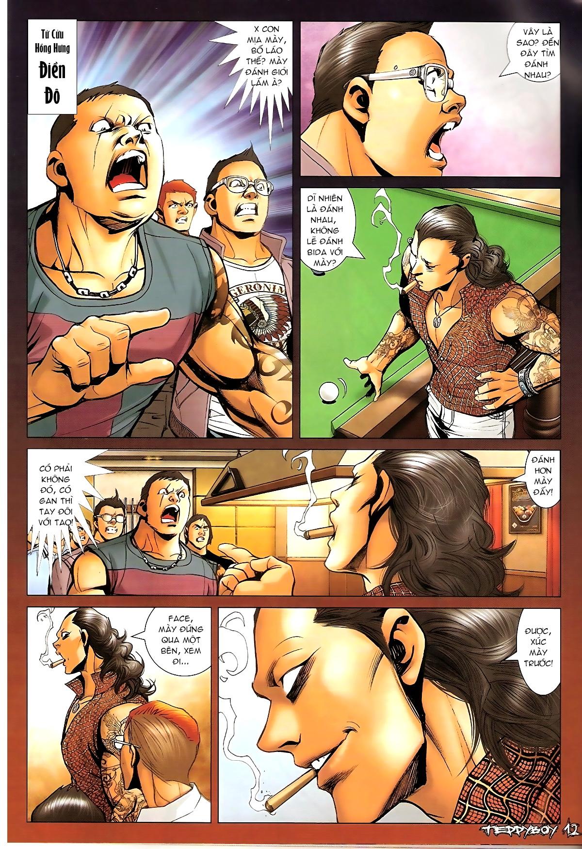 Người Trong Giang Hồ - Chapter 1328: Rắc rối - Pic 9