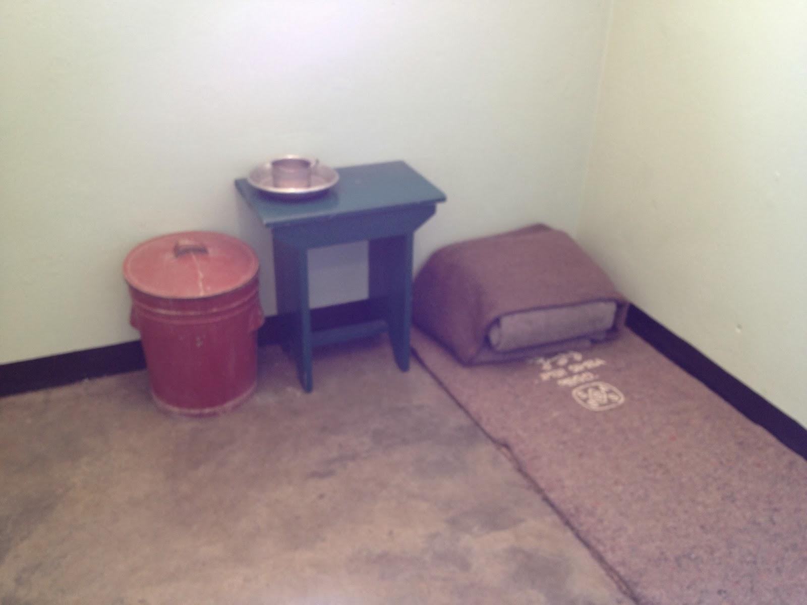 Robben Island - Nelson Mandela's old prison cell