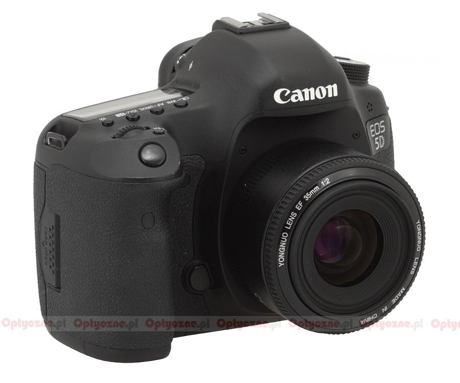 Canon EOS 5D Mark III и объектив Yongnuo YN 35mm f/2