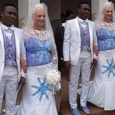 Women who marry old men