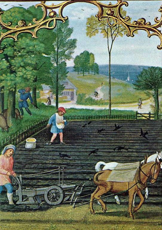 A invenção do jugo simplificou o trabalho e multiplicou a produção