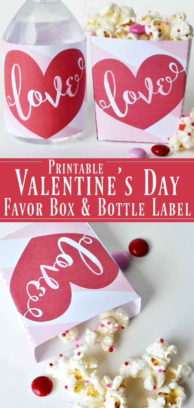 the life of jennifer dawn printable valentine s day favor boxes