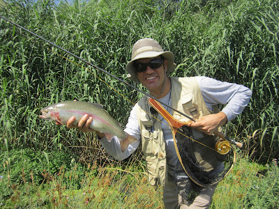 fly fishing in Iran