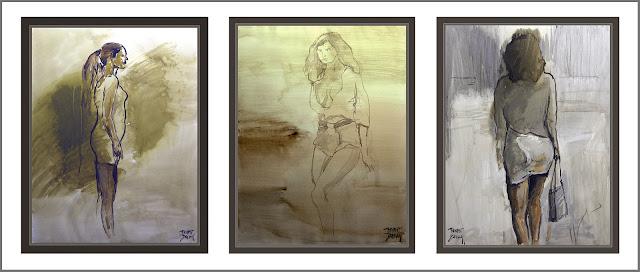 MUJERES-PINTURA-ARTE-MODA-MUJER-MODELOS-INFLUENCIA-ARTISTAS-PINTURAS-ARTISTA-PINTOR-ERNEST DESCALS