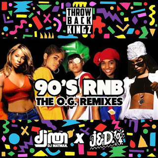 Throwback Kingz - 90's RNB- The OG Remixes
