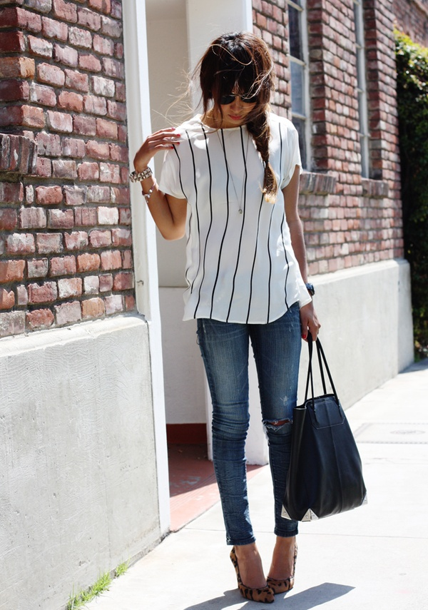 WEAR VERTICAL LINES - Fashion Tips For Short Girls