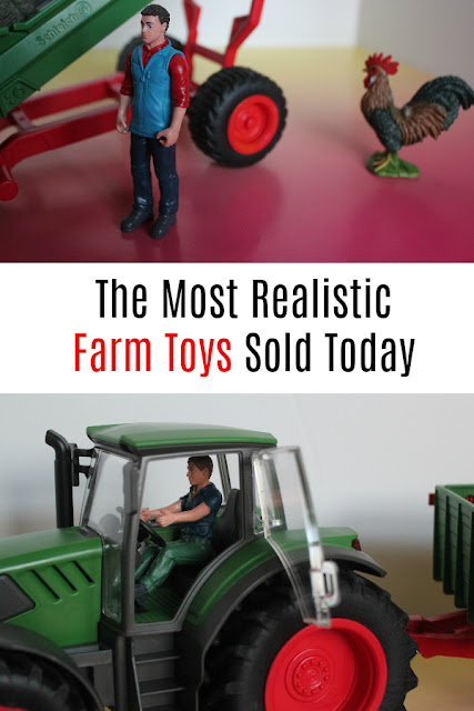Looking for realistic farm toys for your children to play with and learn from? Look no further than Schleich. This German brand of toys has been producing high-quality items for over 80 years!