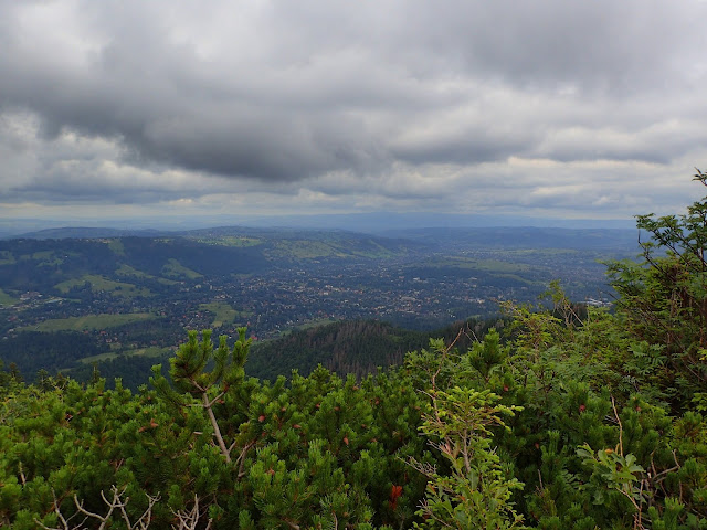 Panorama na drugą stronę - Podhale, Gubałówka i Zakopane