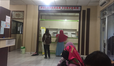 Peta Lokasi, Alamat dan Nomer Telepon Suntik Meningitis di KKP Makasar, Jl. Hatta No.3, Butung, Wajo, Kota Makassar, Sulawesi Selatan