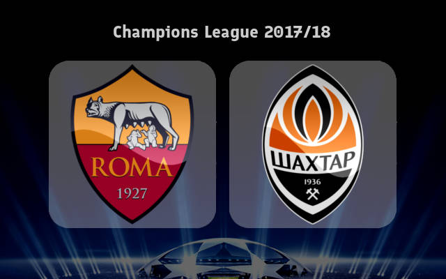 Roma vs Shakhtar Donetsk Full Match And Highlights