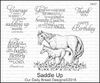 Our Daily Bread designs Saddle Up