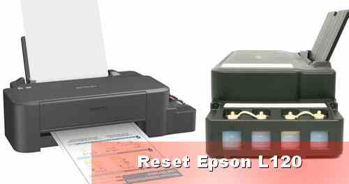 Mereset Ulang Epson L120 dengan dan Tanpa Software Resetter