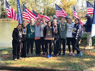 Montgomery Catholic Cross Country Team Wins State Championship 1