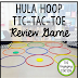 Hula Hoop Tic-Tac-Toe Review Game