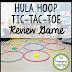 Hula Hoop Tic-Tac-Toe Review Game