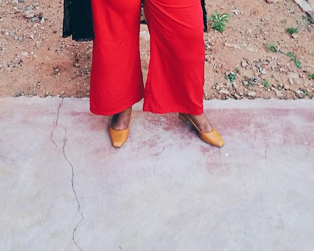 plus size blogger style red pants, south african plus size blogger, plus size red pants, plus size sheer kimono,