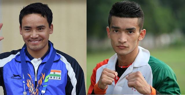 Arjuna award for Shiva Thapa, Khel Ratna for Jitu Rai
