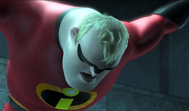 Mr. Incredible in The Incredibles
