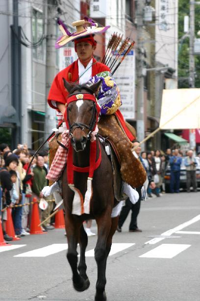 Yabusame at Osaka Tenmangu