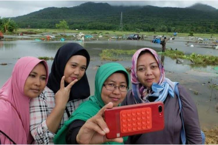 Lokasi Bencana dijadikan Wisata Selfie, Apa Pantas?