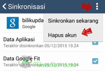 Cara Keluar Gmail Android