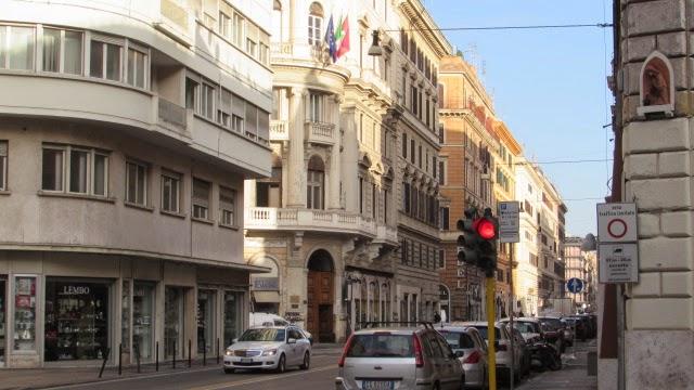 rzym ruch miejski