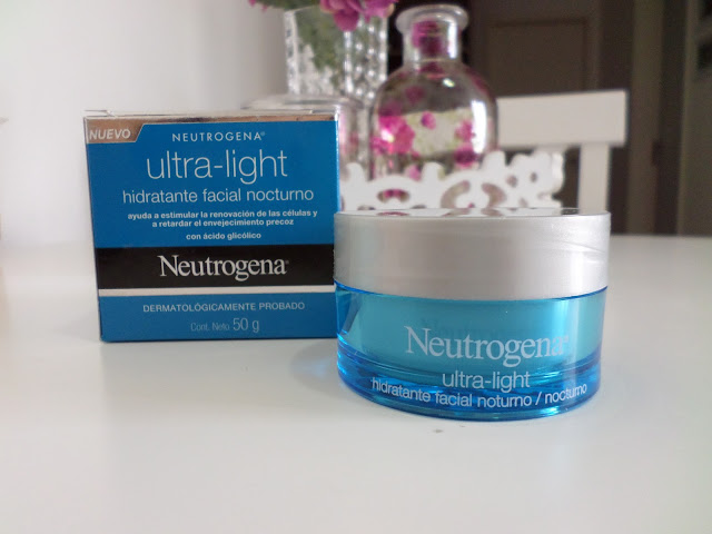 Creme Hidratante Facial Neutrogena Ultra Light Noturno